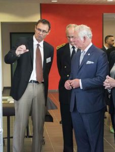 Speaking about Agroecology with Prince Charles
