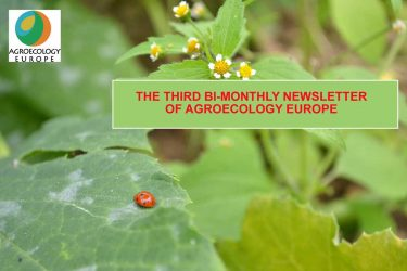The third bi-monthly newsletter of agroecology Europe