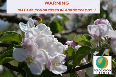 Fake congresses in Agroecology