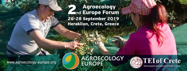 Go to the Agroecology Europe Forum 2019!