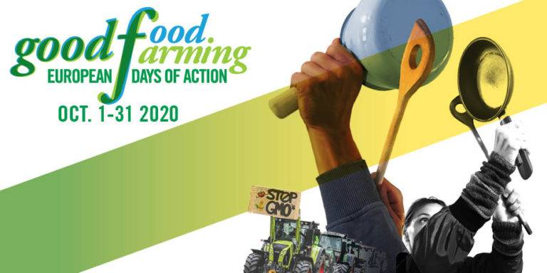 Get Active! Raise the alarm for Good Food and Good Farming, join us!