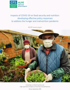 Impacts of COVID-19 on food security and nutrition
