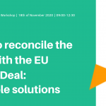 "Virtual Policy Workshop: ""How to reconcile the Common Agriculture Policy (CAP) with the EU Green Deal: possible solutions?"", Wednesday 18th of November 2020"