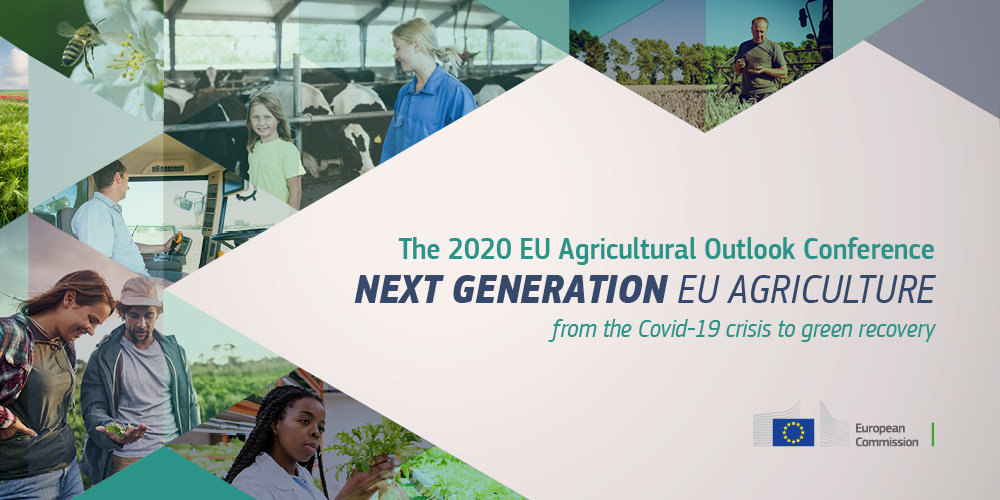 """EU Commission Conference on """"2020 EU Agricultural Outlook"""" on 16/12/2020"""