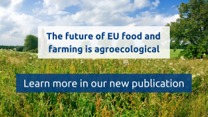 New policy paper co-signed with 25 European organisations: Agroecology as a framework to rethink EU policies for sustainable food systems!