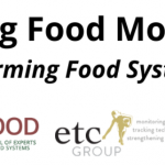 "Release of IPES-Food & ETC Group Report on ""A Long Food Movement? Transforming Food Systems by 2045′"""