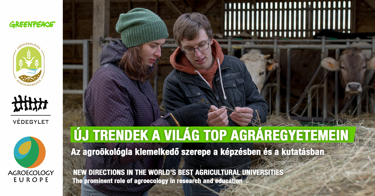 """Webinar on """"New trends at the top agricultural universities of the world: the importance of agroecology in training and research""""  to be held on Thursday, 25 March 2021 10:00 – 14:00 – In English with interpretation into Hungarian"""