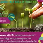 International Horticultural Congress 14 – 20 August 2022